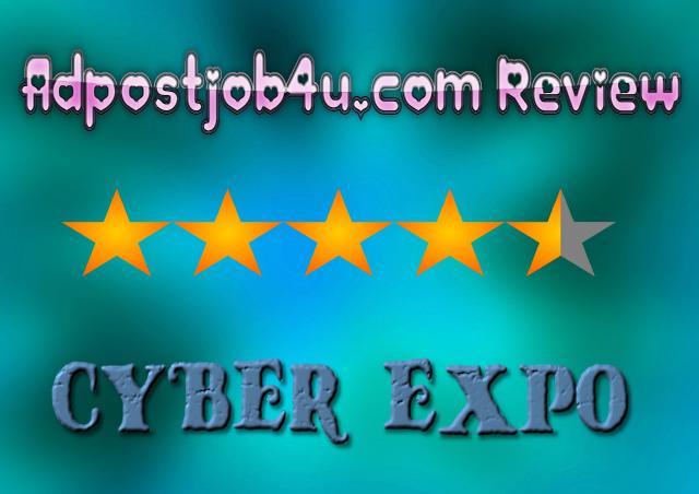 adpostjob4u.com CYBER EXPO _best online jobs
