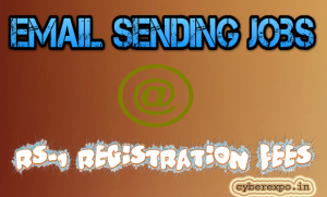 Email Sending Jobs @Rs-1 Registration fees Life Time Work in India