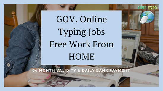 Free Online typing jobs without investment Work From HOME