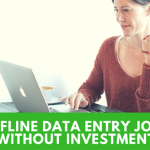 Free Offline Data Entry Jobs From Home- 100% Genuine Projects in India