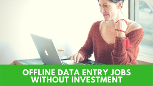 offline data entry jobs projects