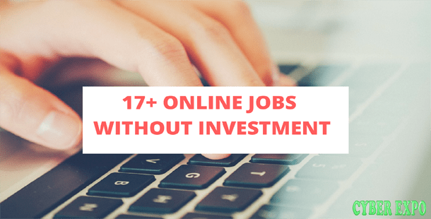 17+ Online Jobs without Investment that Pay Daily Rs  2000
