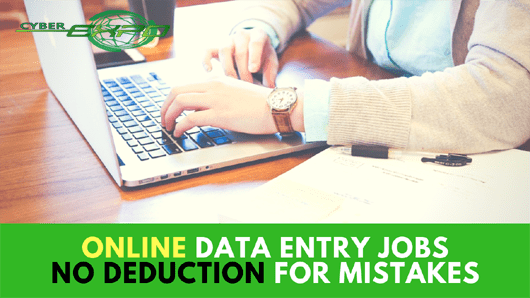 WORK FROM HOME ONLINE DATA ENTRY JOBS